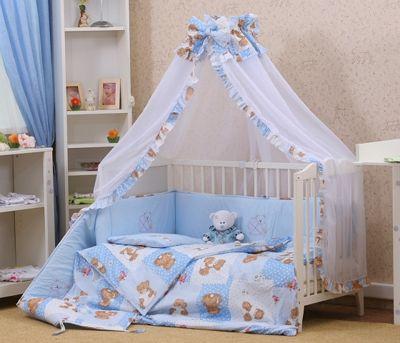 Як вибрати комплект постільної білизни для новонароджених  » Діти 60a248509744d