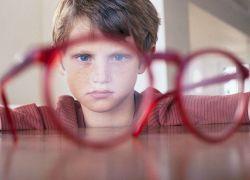 Далекозорість у дітей