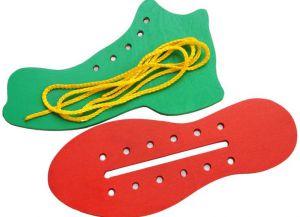 Шнуровку для ребенка своими руками