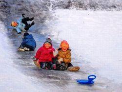 Правила поведінки взимку для дітей