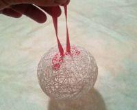 Как сделать клей для шариков из ниток