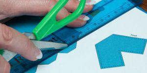 Як зробити робота з паперу?