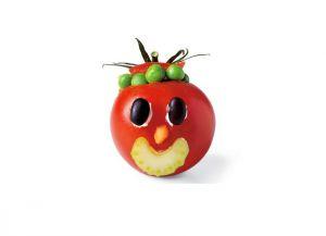 Поделка из овощей из помидор 3