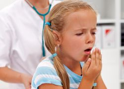 Сильний сухий кашель у дитини