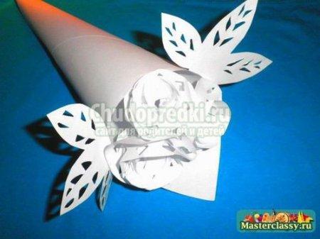 Поделки из простой белой бумаги