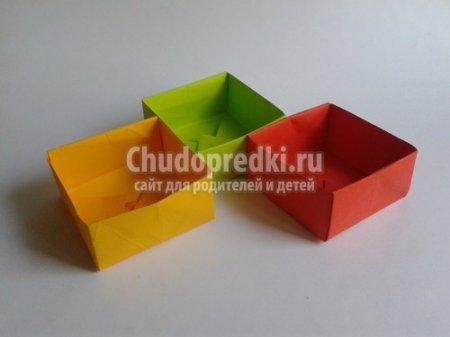 Як зробити коробочку з паперу? Докладні майстер-класи з фото