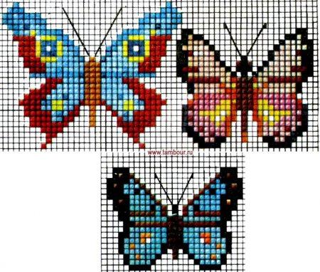Символ душі і безсмертя в образі метелика на схемах вишивок бісером